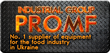 PROMF industrial group - No. 1 supplier of equipment for food industry in Ukraine