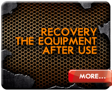 Recovery food equipment after use