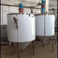 The tank jacketed and stirrer, under pressure, the volume of one cubic meter (8022-2)