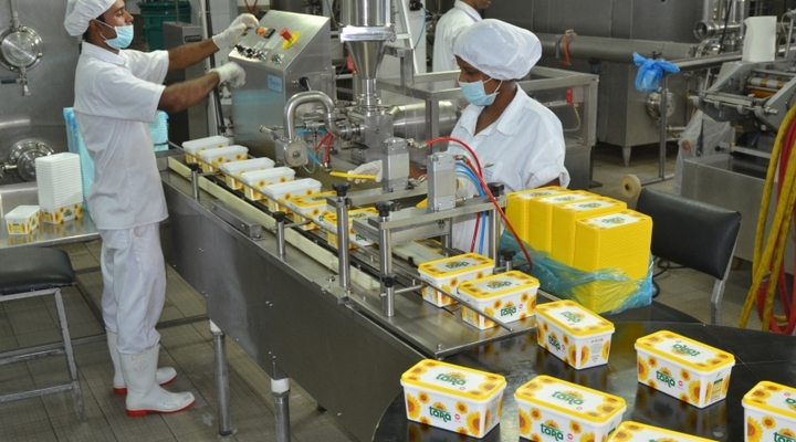 Ideas for business: production Margarine