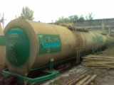 The train tank 39 cubic meters