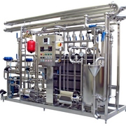 Pasteurizing and cooling equipment