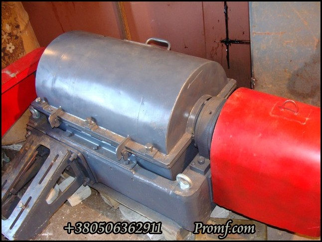 Centrifuge ОГШ 321 for fish slurry decantation, photo 2
