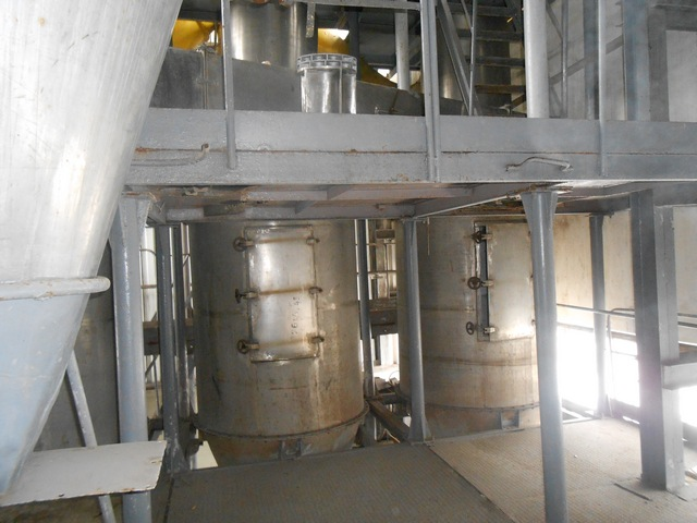 Installing spray drying A1-CFP-500 with vacuum evaporation installation Wiegand 4000 (0076)
