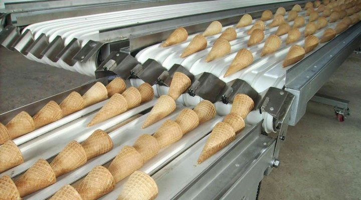 ice cream cone baking machine