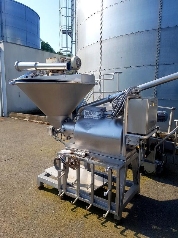 STEPHAN complete emulsifying line (year 1991)